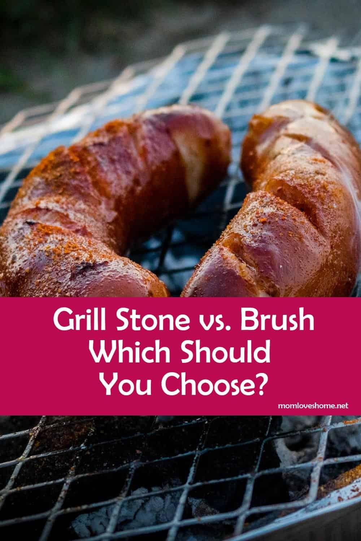 Grill Stone vs. Brush