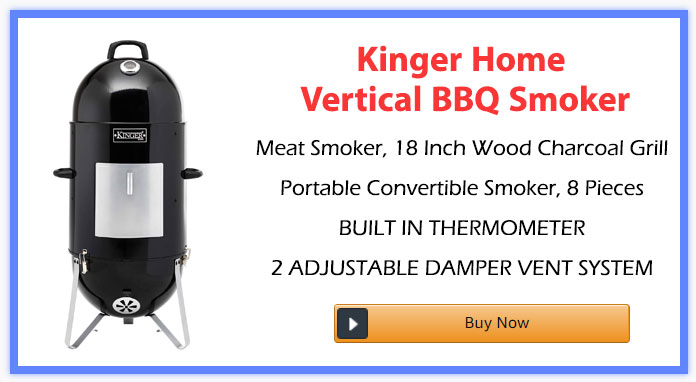 Kinger Home Vertical BBQ Smoker