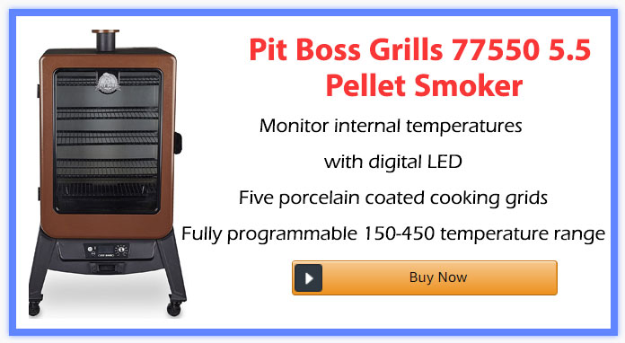 Pit Boss Grills 77550 5.5 Pellet Smoker